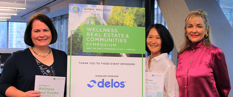 The first-ever Global Wellness Institute Wellness Real Estate and Communities Symposium was held on Sept. 28th in New York, US. Industry leaders gathered in person and online as Susie Ellis, Chair and CEO, welcomed experts to share their insight.